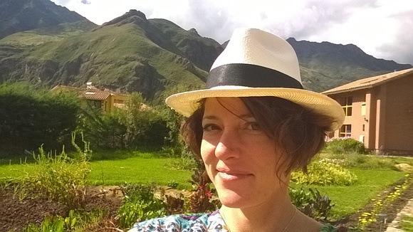 The Professional Hobo, Nora Dunn, in Peru