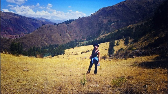Hiking the mountains of Peru