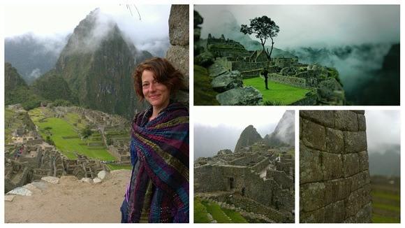 Nora Dunn at Machu Picchu