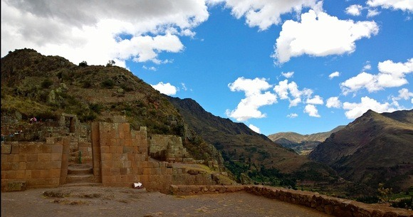 The shape of Pisac Ruins is steeped in cosmology