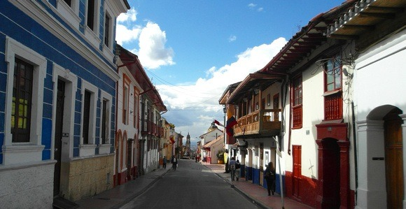 Bogota's historical centre; a place to learn about Colombia lifestyle