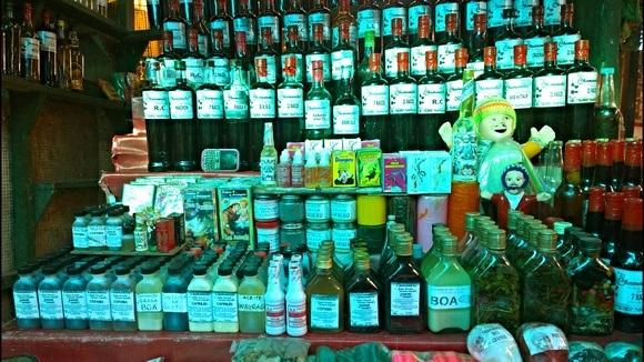 Peruvian jungle medicines for sale in Iquitos