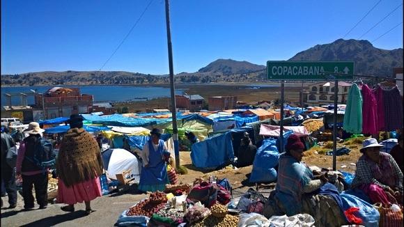 Getting to Isla Del Sol via Copacabana