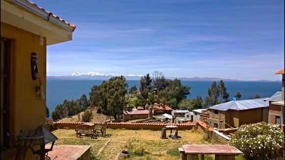 The community of Yuma on Isla Del Sol