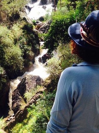 Peru waterfall