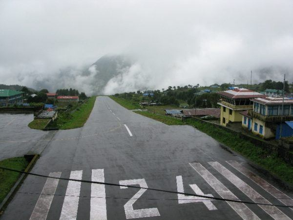 world's most dangerous airport in Lukla Nepal