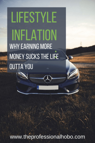Lifestyle Inflation: When I earned 6 figures, I didn't have a higher quality of life than when I earned half as much. Here's why earning more money sucks. #FullTimeTravel #TravelPlanning #BudgetTravel #TravelTips #FinancialTravelTips #TravelMoneyAdvice #SaveMoneyTraveling #MakingMoneyWhileTraveling #Income #Expenses #LifeChange #LifestyleInflation #LifestyleExpenses