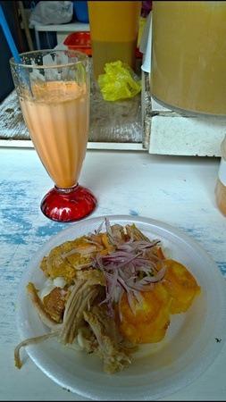 plate of hornado