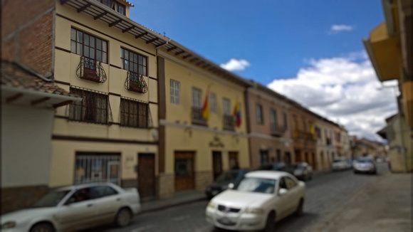 El Centro, in Cuenca, Ecuador