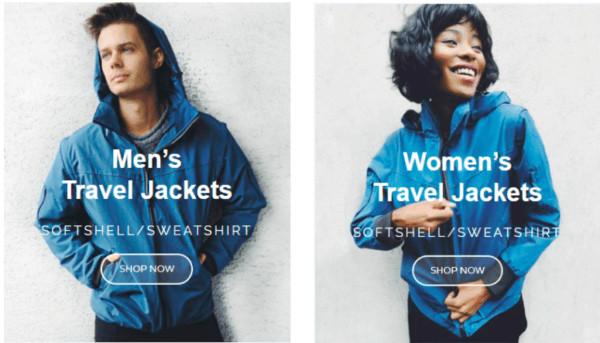 Global Travel Clothing jackets