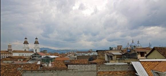 Cuenca's rooftops