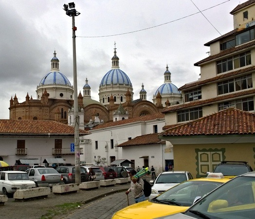 Cuenca's cathedral domes