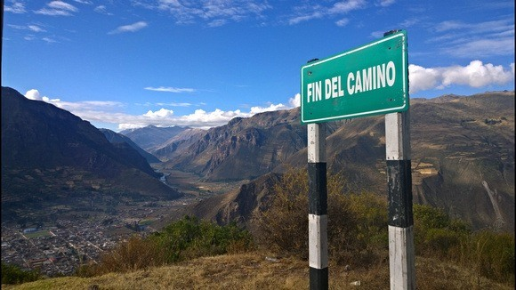 End of the road, in Peru