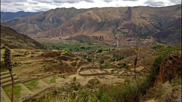 ruins of Tipon in Peru