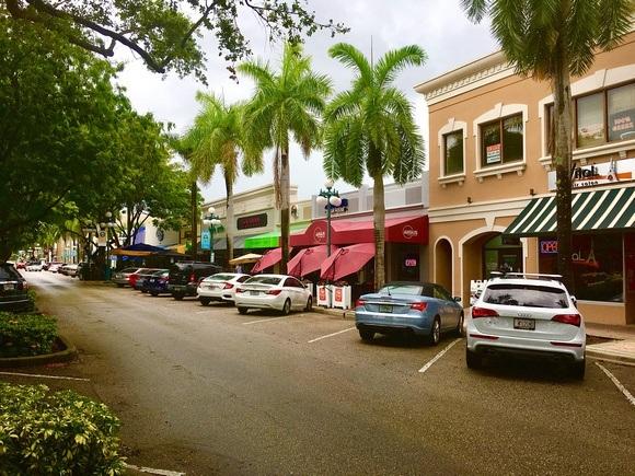 downtown Hollywood Florida