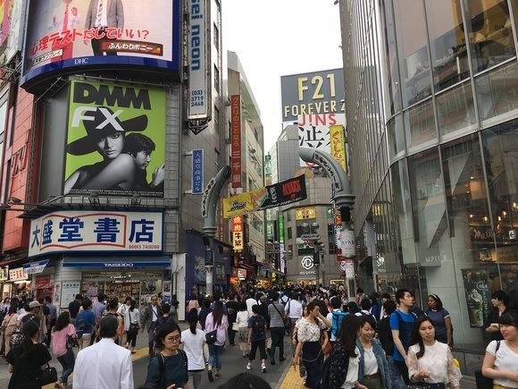 Shibuya Crossing shopping
