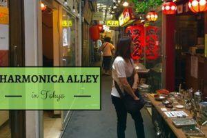 Harmonica Alley in Tokyo