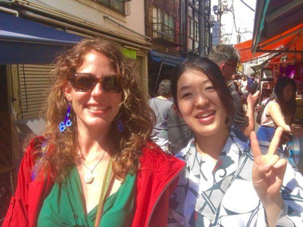 me and Kumiko - my Local Guddy guide