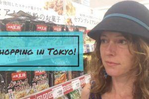 adventures shopping in Tokyo