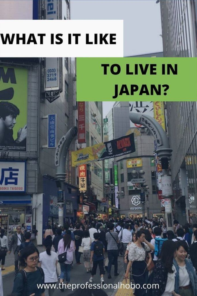 Living in Japan looks something like this! #Japan #Tokyo #expatlife #expatinJapan #TheProfessionalHobo
