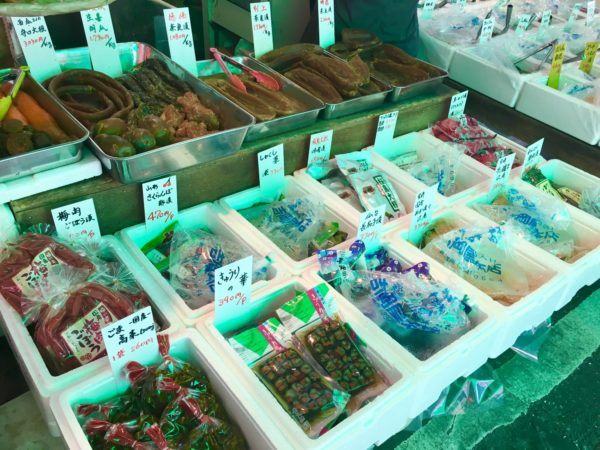Tsukiji Fish Market - outer market