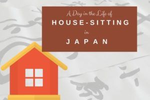 house-sitting in Tokyo