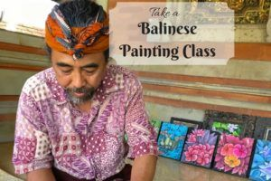 Balinese Painting Class