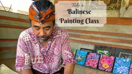Balinese Painting for the (Not So) Artistically Inclined (Vlog Ep. 22)