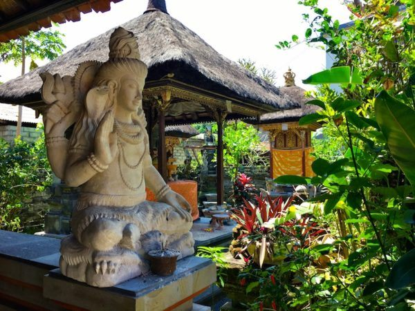 inspirational location for a Balinese painting class