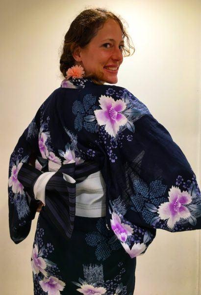 me in yukata (kimono)