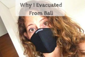 Why I Evacuated From Bali