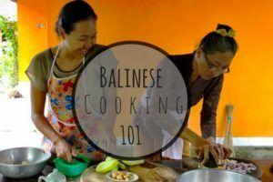 Balinese Cooking 101