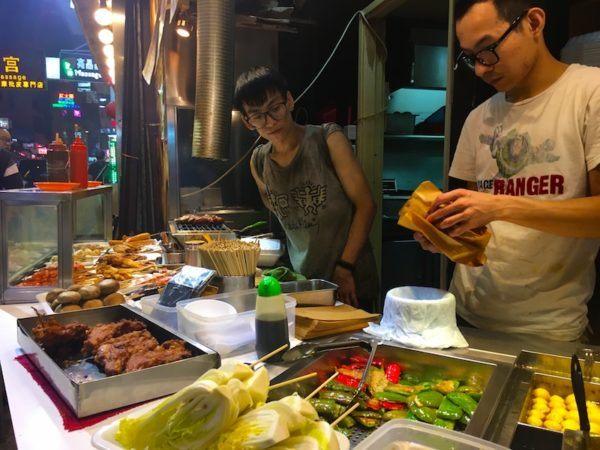 the food in Hong Kong