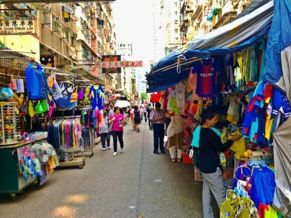 Hong Kong marketplace
