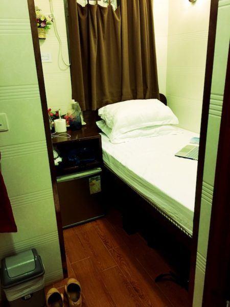 "My ""spacious"" accommodation in Hong Kong"