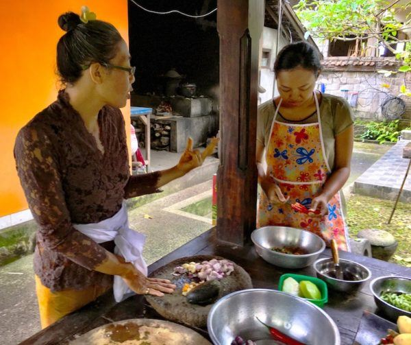 My Balinese Cooking instructors