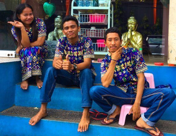 beautiful people of Bali