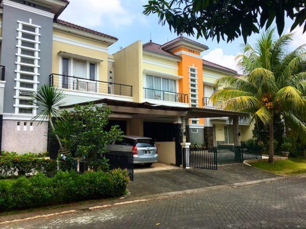 high-class suburb in Jakarta
