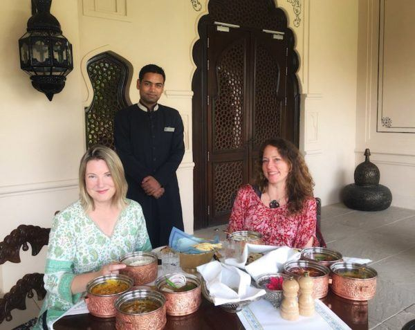 lunch at The Fairmont Jaipur