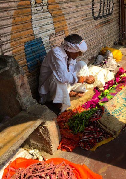 market man in Jaipur India