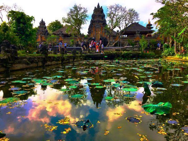 royal palace in Ubud Bali