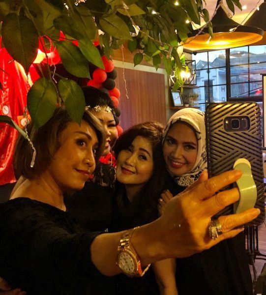selfie extravaganza in Jakarta