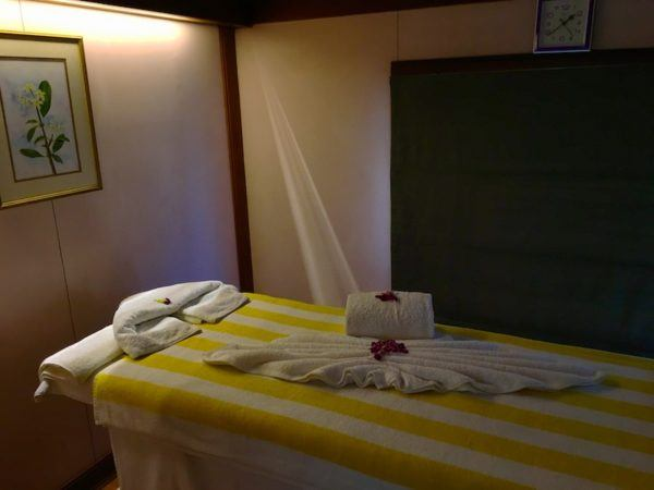 the spa on the most luxurious train in the world