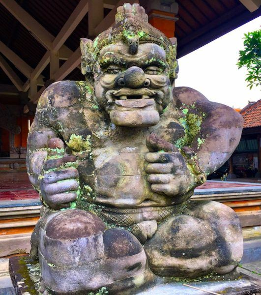 thumbs up for Bali!