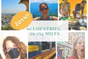 10 Countries & 29,254 Miles -This was 2017!!