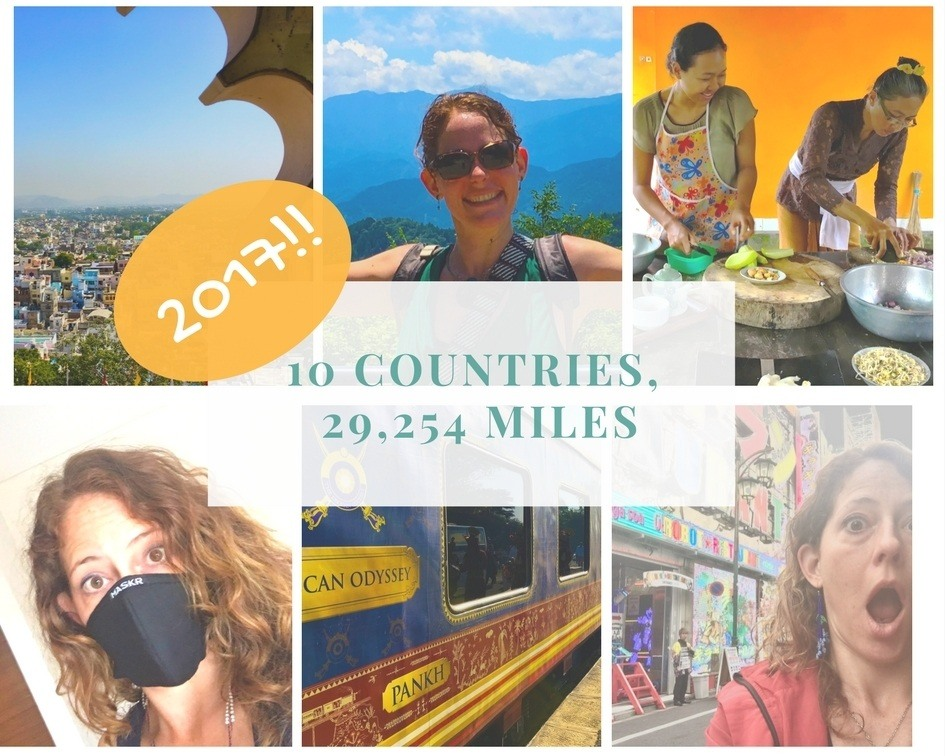 10 Countries and 29,254 Miles: This was 2017!