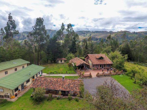 Gaia Sagrada retreat centre in Ecuador