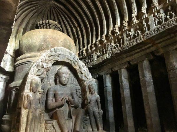 Ellora caves in Aurangabad India