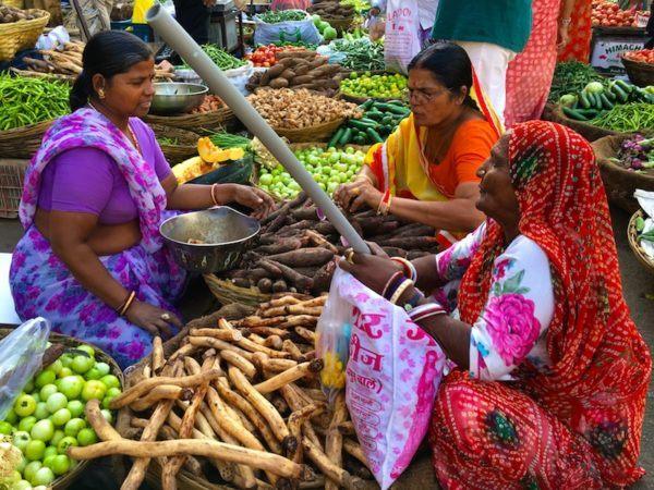 Udaipur vegetable market