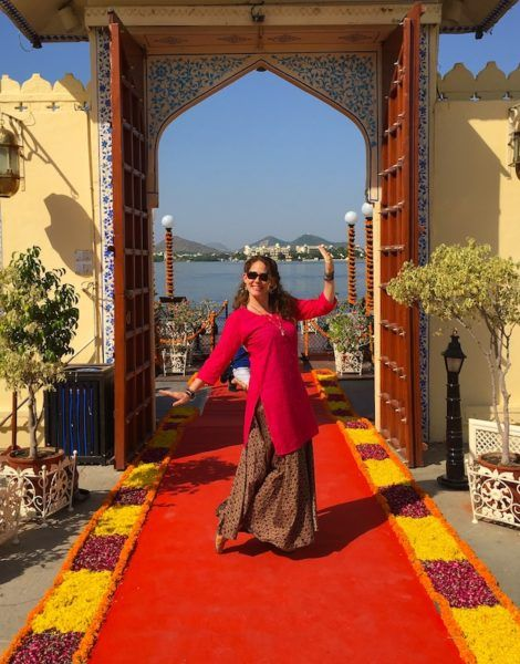 Hanging out at the pleasure palace in Udaipur India